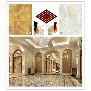 UV coated imitation marble PVC ceiling sheet