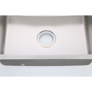 Factory supply stainless steel single bowl sink