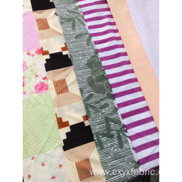 Polycotton disperse print fabric