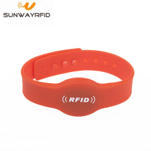 Silicone NFC RFID Bracelet for Swimming Pool