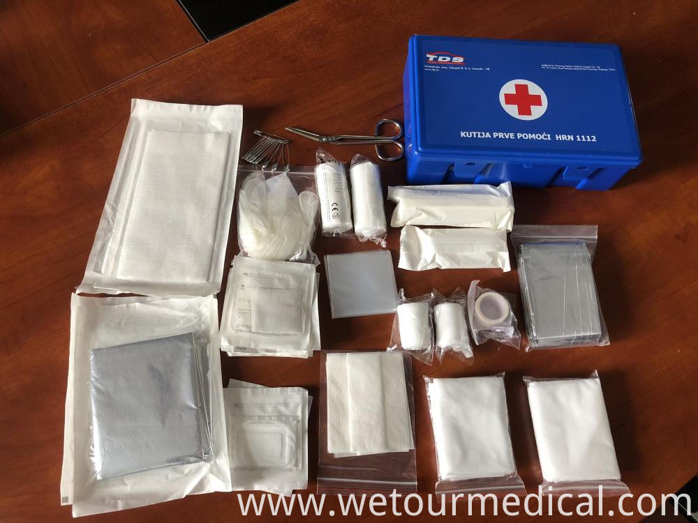 First Aid Kit Travel Box