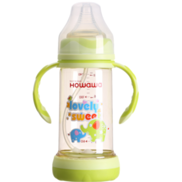 Wide Neck Anti-Flatulence PPSU Feeding Bottle