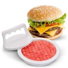 1Set Round Shape Hamburger Press Food-Grade Plastic Hamburger Meat Beef Grill Burger Press Patty Maker Mold Kitchen Accessories