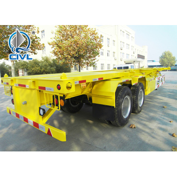 Sino Semi Trailer Trucks Low Bed 2 AXLES