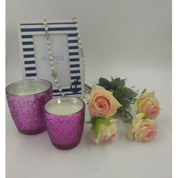 Premium Highly Scented Glass Candle