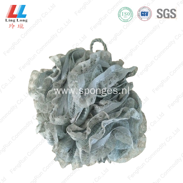 Charming loofah mesh body soft sponge ball