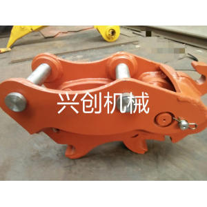 Excavator hydraulic quick connector