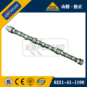 Camshaft 6150-41-1012 for komatsu PC400-7 excavator parts
