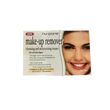 Private Label Makeup Remover Wet Wipes