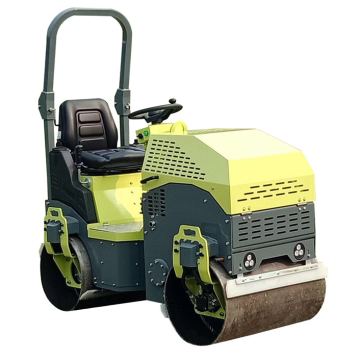 1.5 ton ride-on double drum road roller