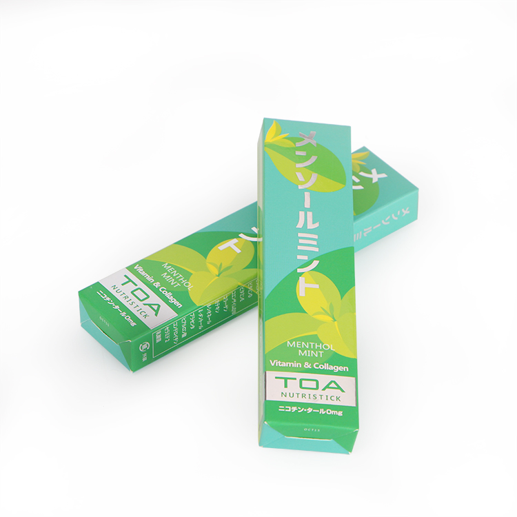 Healcier Menthol 500Puffs No-nicotine and No-tar E-Cigarette