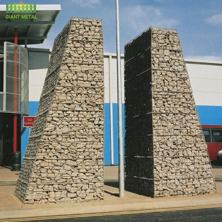 Best price galvanized gabion box retaining wall