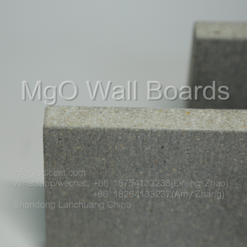 Fiber Cement Board Replace Product Gray Magnesium Oxide MGO Cement Board