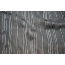 Viscose 50D Filament Lurex Stripe Yoryu Dobby Fabric