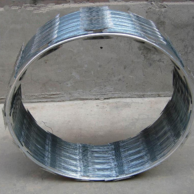 Low Price Galvanised Concertina Razor Barbed Wire Fencing