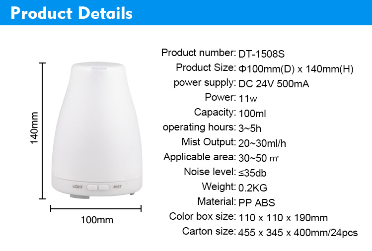 Electric Ultrasonic Diffuser