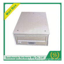 SMB-064SS high quality stainless steel lockable solar mailbox with lower price