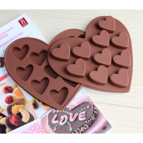Fancy Bar Snacks Silicone Chocolate Tray Ice Molds