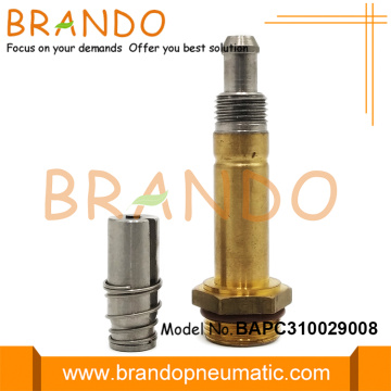 Brass Plunger Tube Stainless Steel Moving Core Armature