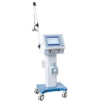 Medical Ventilator Machine Ukuphefumula Izinsiza Nge-trolley