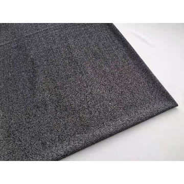 Metallic Knitting Jacquard Fabric