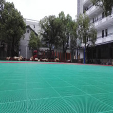 colorful free design outdoor pp plastic modular flooring