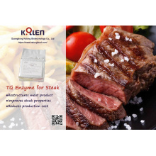 Food additive in steak