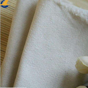 White 600 Denier Polyester Cotton Canvas Fabric