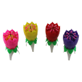 Rotating musical  firework birthday candles