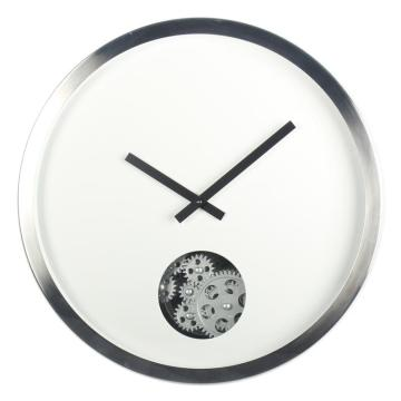16 inch Wall Clock with Moving Gears