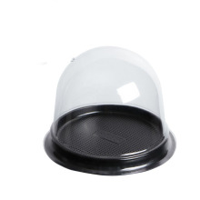 Transparent round mini moon cake plastic box