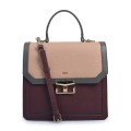 Latest Large Hard Leather Female Finalize Tote Bag
