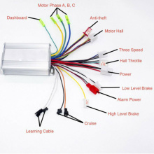 DC 36V~48V 350W E-bike Brushless Motor Controller for Electric scooters accessories