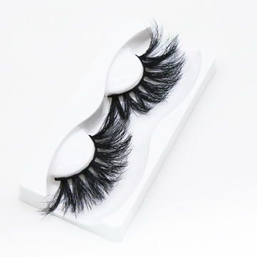 Wholesale cruelty free vegan 3d 5D mink eyelashes 25mm 5d mink lashes