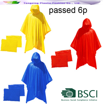 any color poncho for outdoor rainy days