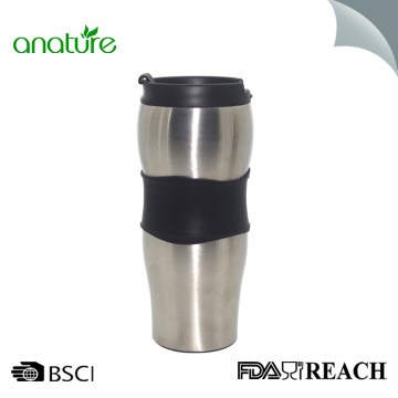 16oz Travel Thermos Mug For Coffee Stainless Steel