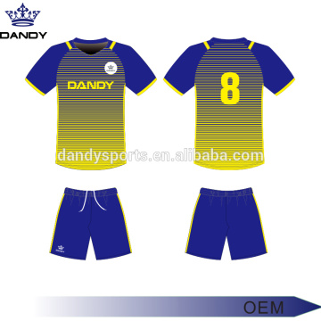 Sublimated ombre soccer jerseys