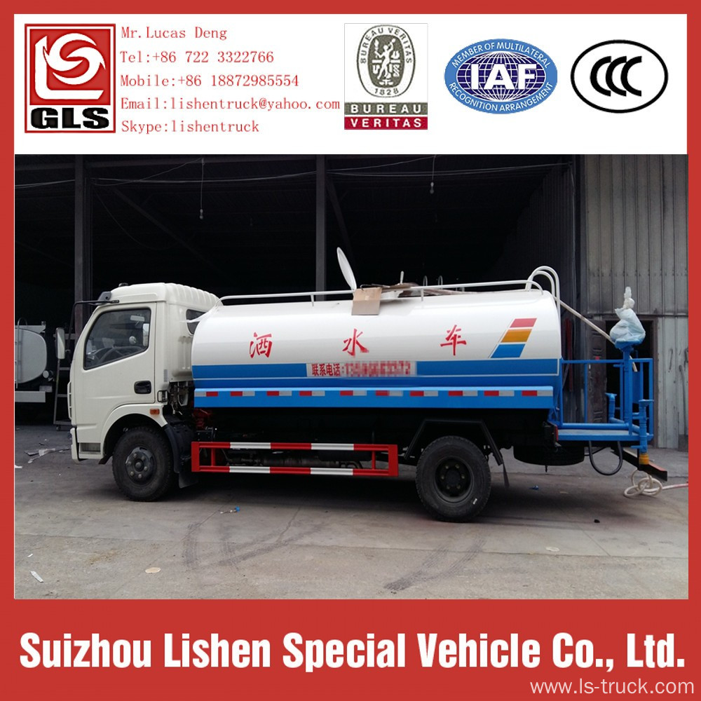 Europe 2 Water Truck For Sale Dongfeng