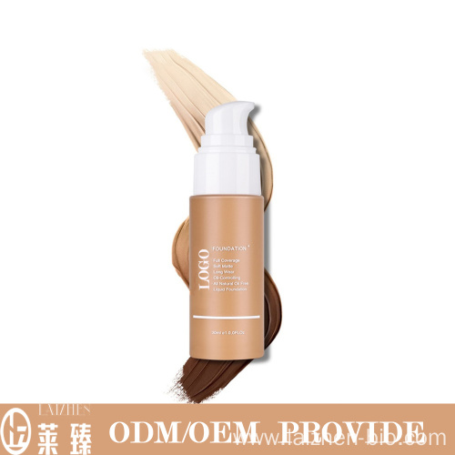 Natural long-lasting makeup foundation