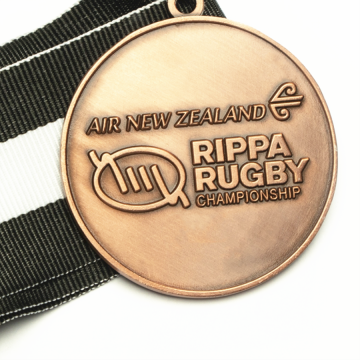 New zealand metal championship medal