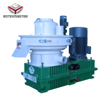 Vertical main motor pellet machine