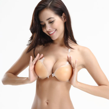 Self-Adhesive Silicone Front Closure Sticky Bra