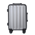 ABS blue carry on trolley luggage sets