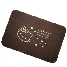 Waterproof vinyl flooring non-slip door mat