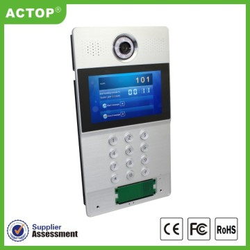 Building Door Security System with Camera Intercom