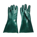 Green chemica proof gloves