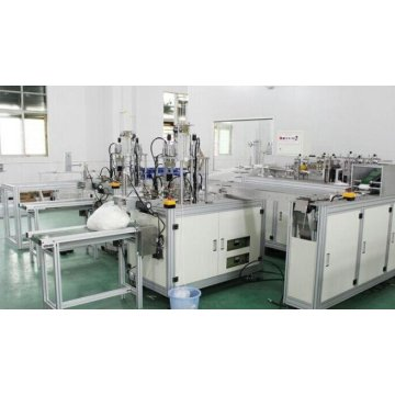 Automatic mask making machine