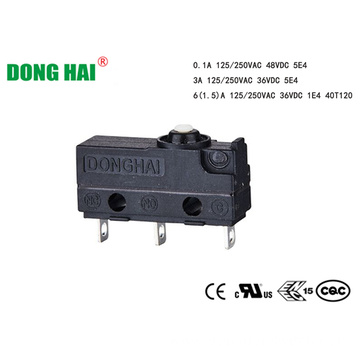 Dustproof Micro Switch For Household Appliances