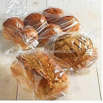 Plymor Flat Open Plastic Poly Bags Bread Bag
