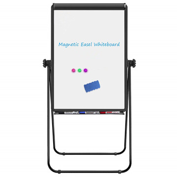 360 Degrees Rotated folding magnetic white writing board